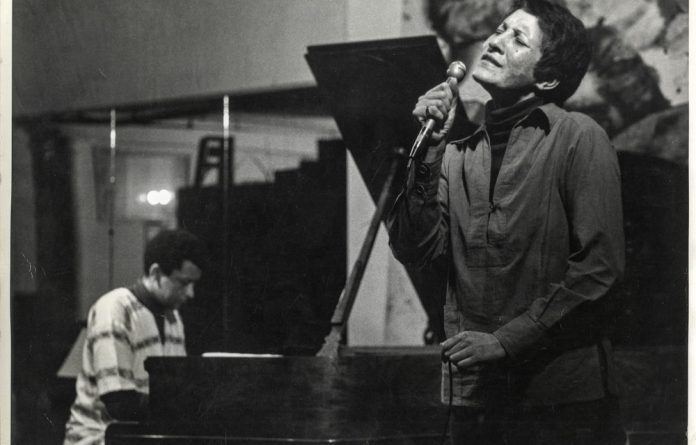Heart: Sathima Bea Benjamin who was married to jazz musician Abdullah Ibrahim was warned not to release the album Lovelight because it was deemed too controversial. Photos: Sathima Bea Benjamin Personal Collection given to Carol Muller