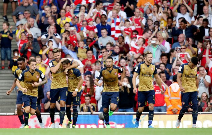 Arsenal are the reigning FA Cup champions.