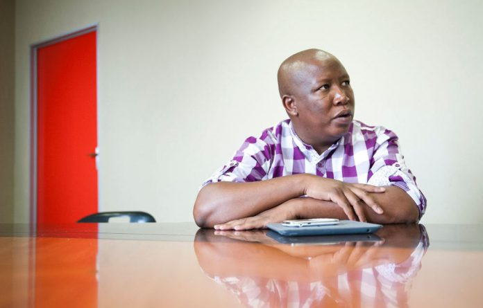Verashni Pillay shares her experience of interviewing Julius Malema about his new party