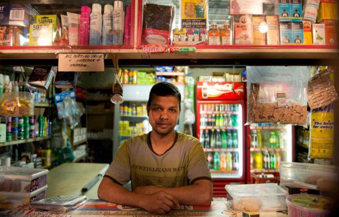 Shahin opens his shop at 6am and closes at 9.30pm.