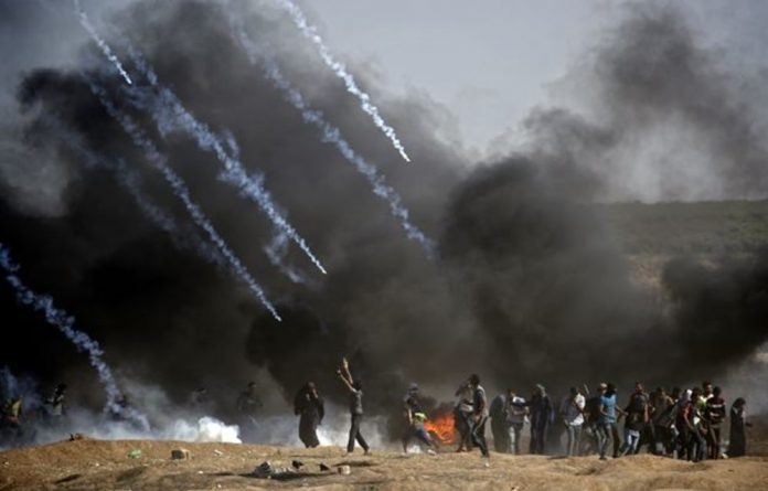 The motion comes days after the killing of at least 60 Palestinians in the past four days by Israeli soldiers at the Gaza border.