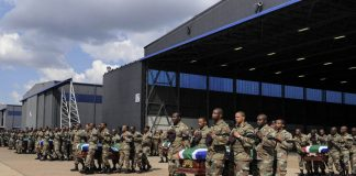 Let down: Like the South African troops killed in the Central African Republic in 2013