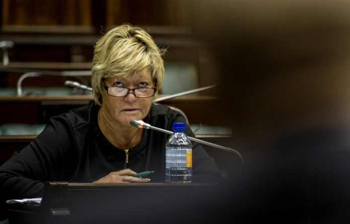 Glynnis Breytenbach told the Mokgoro inquiry that Nomgcobo Jiba went along with her boss Lawrence Mrwebi's decision to drop corruption charges against Richard Mdluli