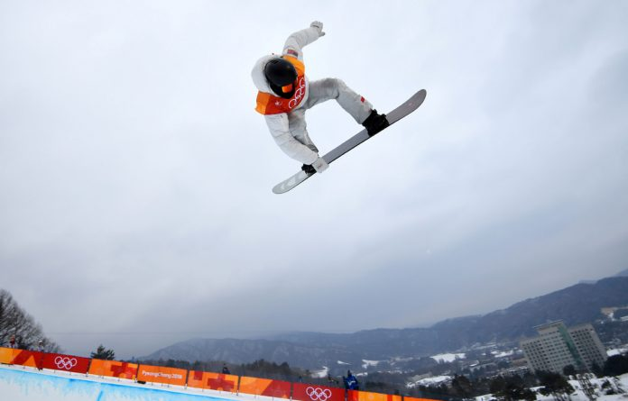 US snowboarder Shaun White competing in the men's half-pipe on February 14 at the Pyeongchang Winter Games