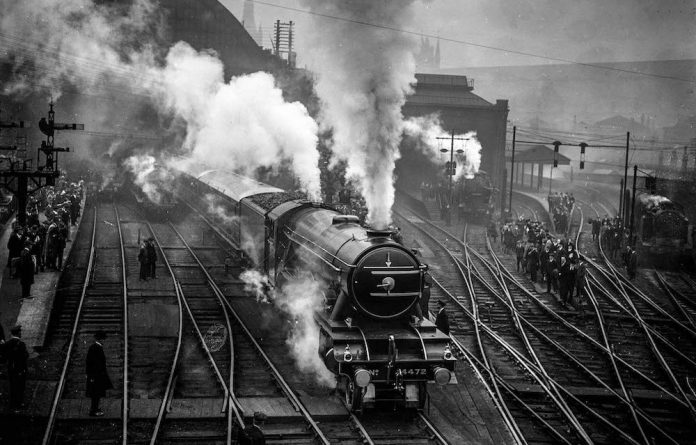The 150 ton LNER Pacific class locomotive 'Flying Scotsman'