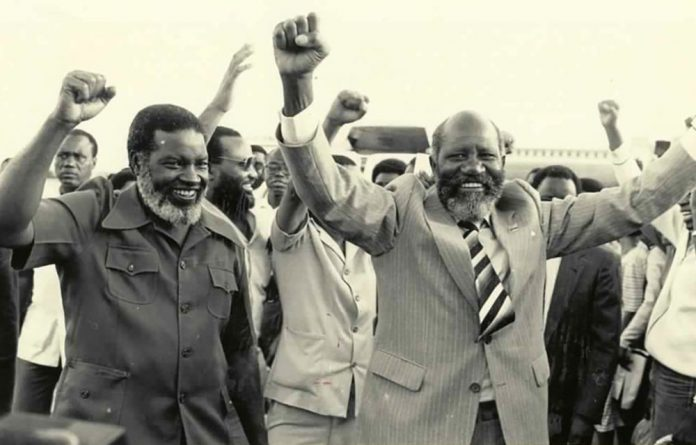 Liberation leaders: Andimba Toivo ya Toivo