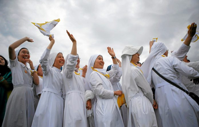 Pope Francis stated last year that 'the door is closed' on the idea of women priests.