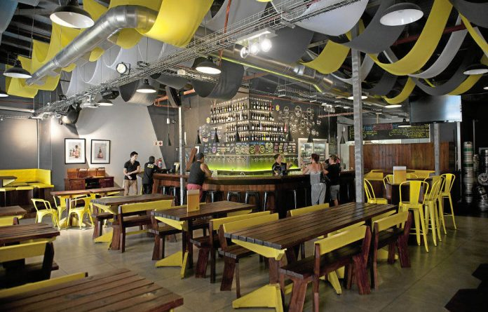 Home of beer: The Beerhouse in Cape Town where the best brews