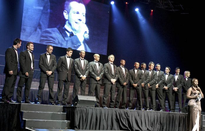 The 2009 Mr South Africa pageant which was held at the Big Top Arena at Carnival City.