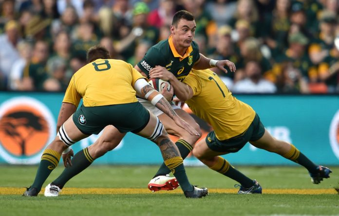 Jesse Kriel made multiple errors against the Wallabies in Bloemfontein. the Boks will have to be on the ball to counter All Black moves such as the famous Sonny Bill Williams offload
