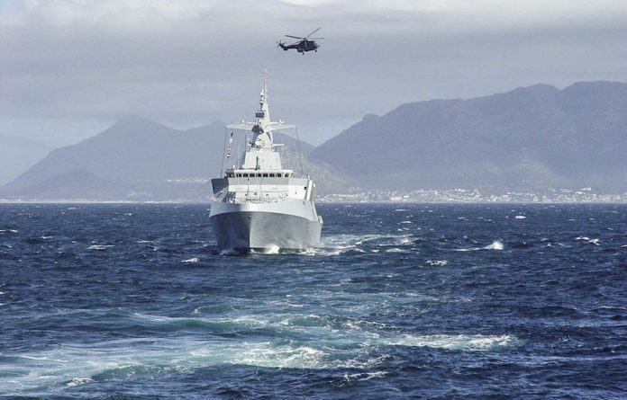 A drop in the ocean: The South African navy doesn't have enough vessels to patrol the coastline.