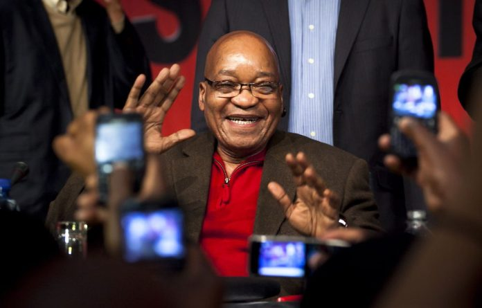 The ANC would not discuss the report with Zuma either