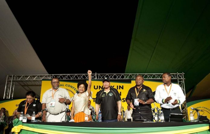 Gwede Mantashe does not believe 'everyone is out to get him'.