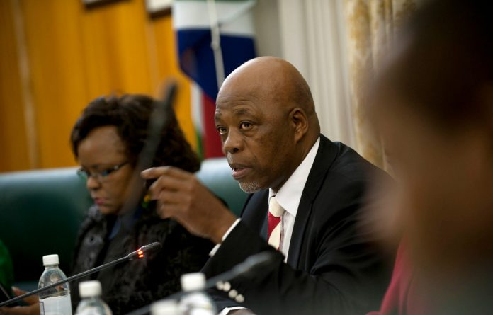 ANC chief whip Stone Sizani told journalists that once the code had been adopted