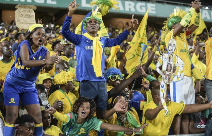 Return to form: Sundowns lost 1-0 to Zimbabwe's Chicken Inn recently in the first leg of their Champions League play-off but they should get their fans cheering in the second leg at home this weekend.
