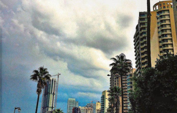 The corniche in central Beirut.