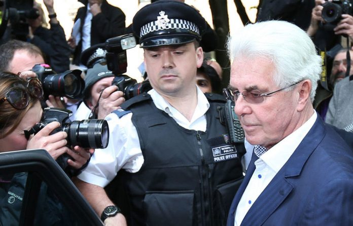 British publicist Max Clifford.