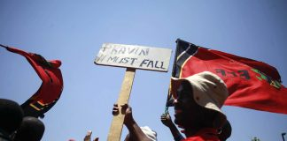 Strategy: EFF leader Julius Malema has turned on Pravin Gordhan