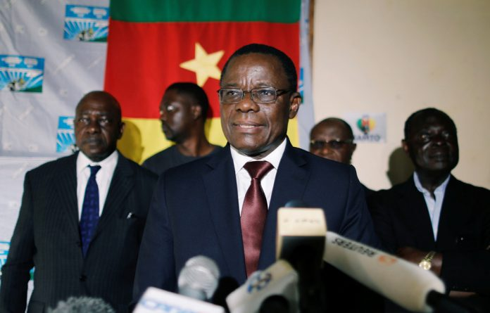Kamto has said he was the rightful winner of presidential elections last October won by the West African country's veteran leader Paul Biya.