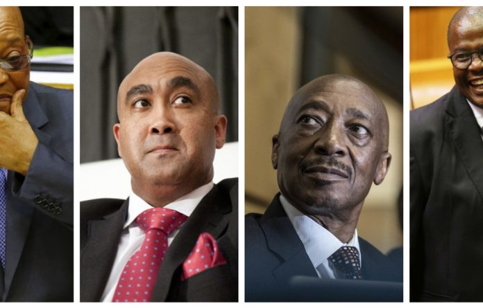Prominent public figures risk losing their jobs or facing jail time as legal cases involving several South African politicians and high-ranking officials are scheduled to be heard in June.