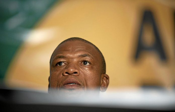 Supra Mahumapelo's son allegedly received a bursary to go to an aviation school from Denel CEO Zwelakhe Ntshepe