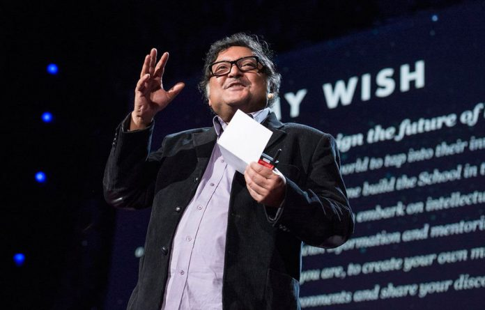 TED prize winner Sugata Mitra was awarded a $1-million TED Prize to pursue the promise of building schools in the Internet cloud where young minds can learn unfettered by grown-ups. Mitra's journey to the prestigious TED gathering began more than a decade ago in Delhi