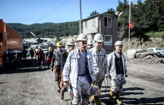 Prosecutors said that the miners were killed after inhaling gas and toxic smoke from the fire which was caused when an abandoned pile of coal left next to an electrical transformer caught fire.