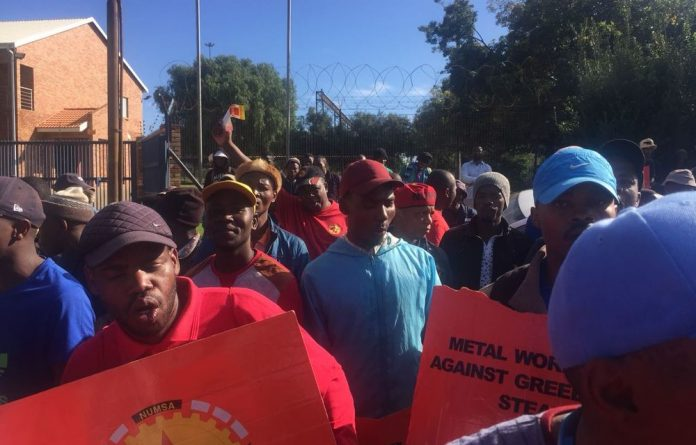The union embarked on a protest on Friday last week