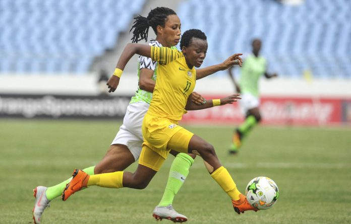 South Africa's Thembi Kgatlana