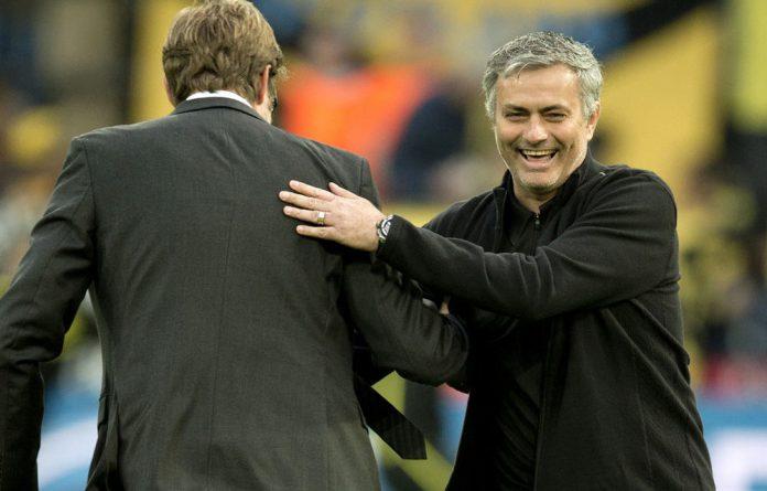 Dortmund's head coach Jürgen Klopp