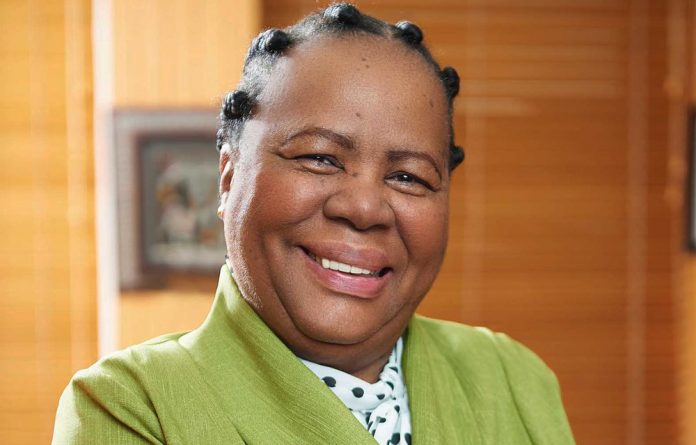 Minister of Science and Technology Naledi Pandor
