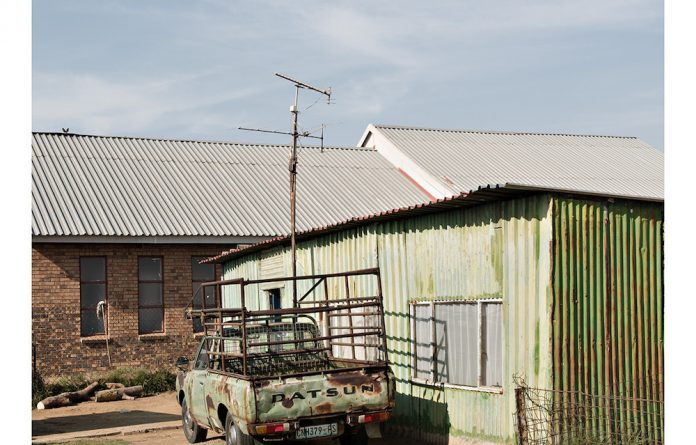 An image of a household in Sharpeville from Jabulani Dhlamini's photo series Recaptured.