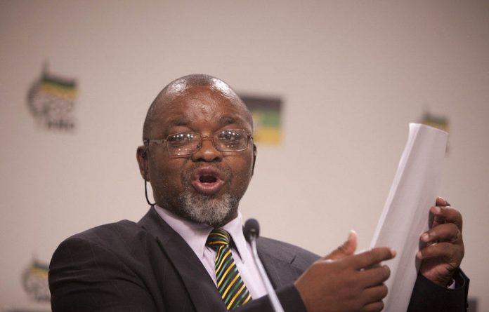 ANC secretary general Gwede Mantashe.