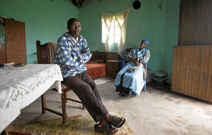 Former miner Mtobeli Elson Vapi