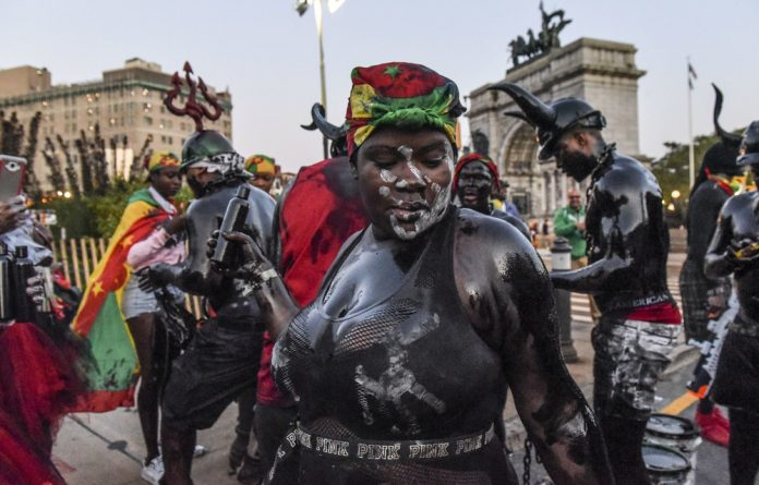 Memory: The Caribbean Carnival and J'ouvert street party is held in Brooklyn