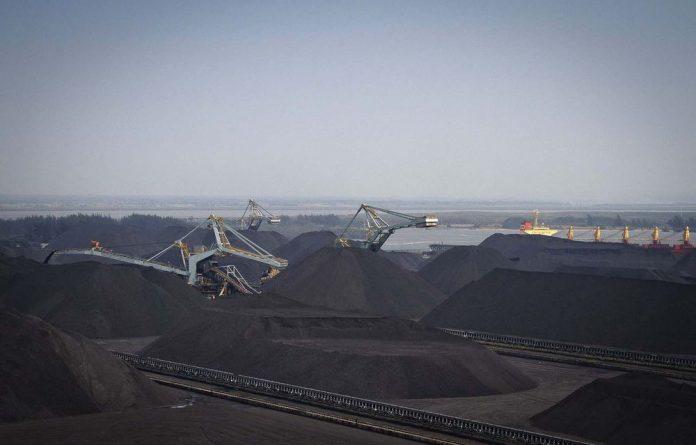Glencore-Xstrata may have increased export capacity at the Richards Bay coal terminal.