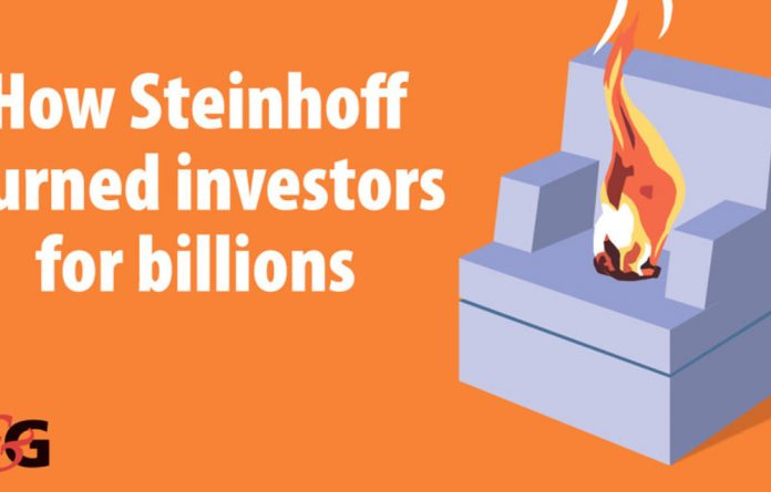 Ratings agency Moody's downgraded Steinhoff's credit rating by four notches three days after Jooste stepped down.