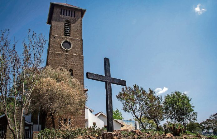 The Church of Christ the Kind where Trevor Huddlestone ministered to the people of Sophiatown during the dark days of apartheid.