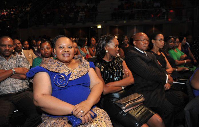 President Jacob Zuma's wife Nompumelelo Ntuli.