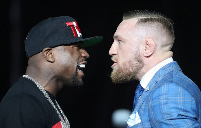 McGregor and Mayweather face off on August 26.