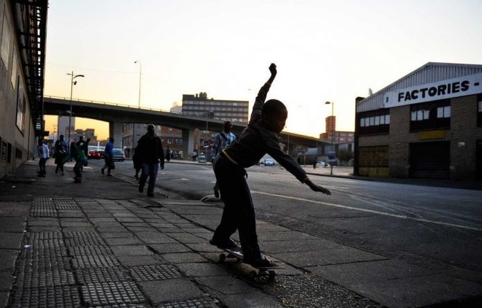 Children take part in the Nollie Faith project