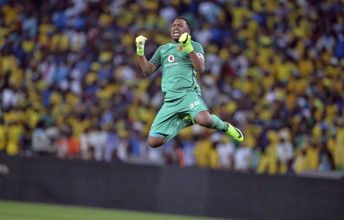 Soaring: Itumeleng Khune says Chiefs will always deliver fans to stadiums