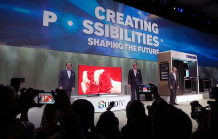 Samsung UHD TV unveiled at CES 2015.