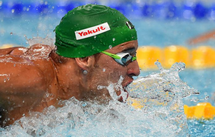 Star attraction: Chad le Clos is a huge Olympic Games drawcard but Swimming SA still can't attract a sponsor and struggles to grow the sport in South Africa.
