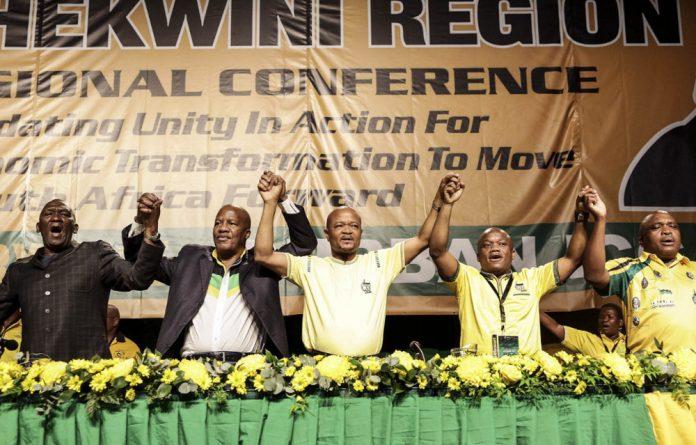 Not United: ANC NEC member Bheki Cele