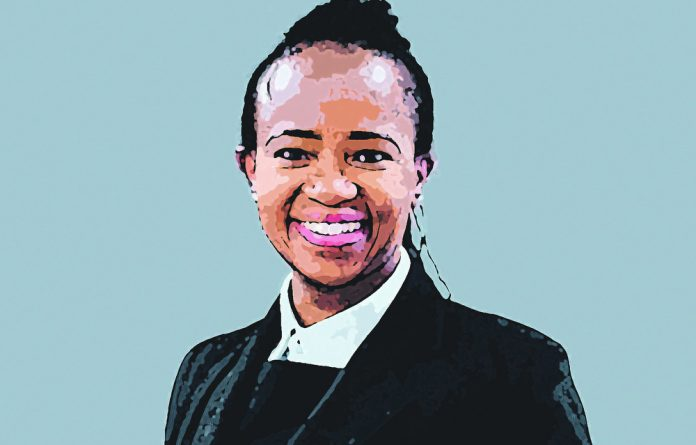 Find your inner strength is Nomonde Gongxeka-Seopa's advice for young women.