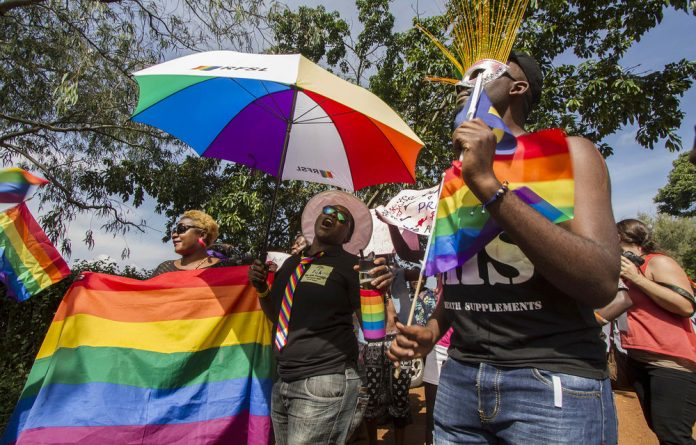 The podcast series includes the Ugandan Pride parade and a