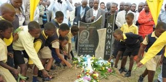 The death of Michael shone the spotlight on poor sanitation at schools