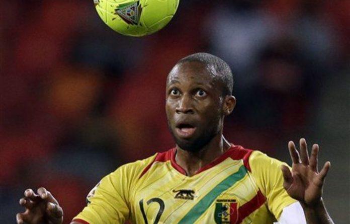 Mali's captain Seydou Keita