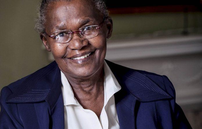 Women's champion: Lauretta Ngcobo